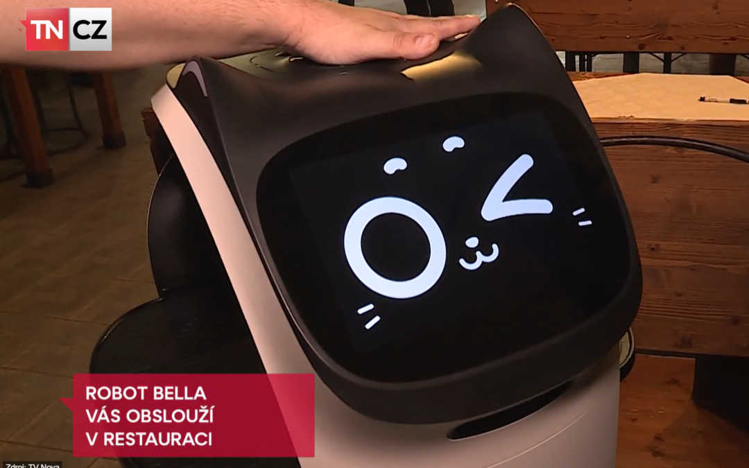 Náš BellaBot se stává hitem médií